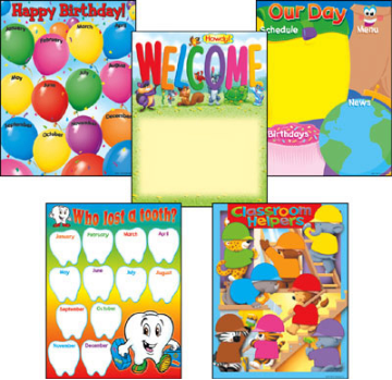 Learning Charts Combo Packs - Classroom Organizers