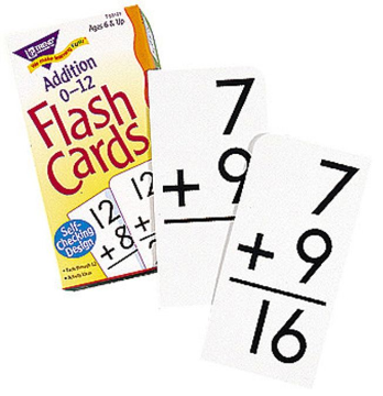 FLASH CARDS - ADDITION 0-12