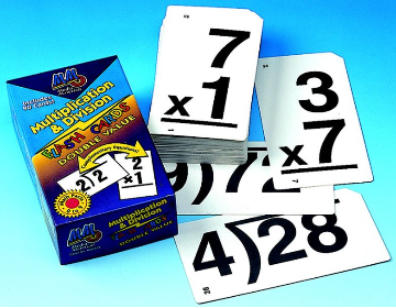 DOUBLE VALUE FLASH CARDS - COMBO SET