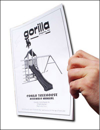 Gorilla Playsets Instructions