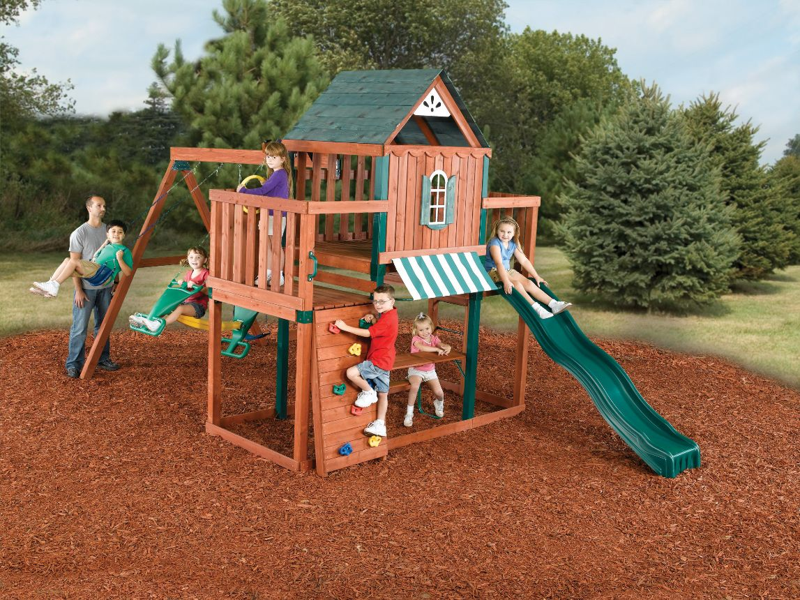 Swing N Slide Winchester Set Wood Complete Ready To Build Sets Kits